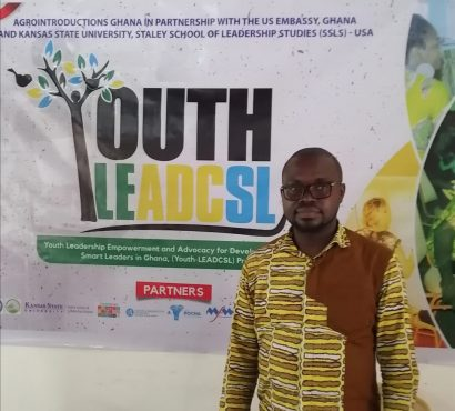 Human Rights Reporters' Joseph Wemakor participates in Youth Leadership Empowerment and Advocacy for Developing Climate Smart Leaders Training