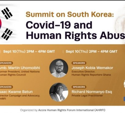Joseph Wemakor to speak at  high-level summit on human rights